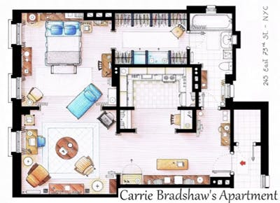 Inaki Aliste Lizarralde?s fictional floor plans