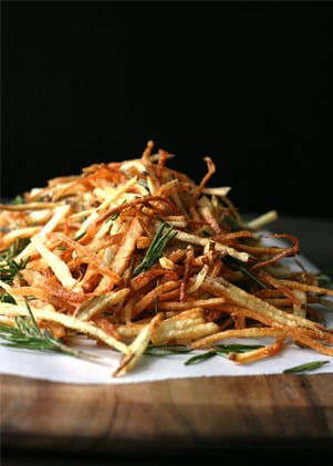 Herby Shoestring Fries