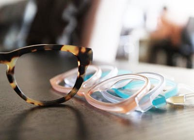 Mix-n-match glasses from Frameri