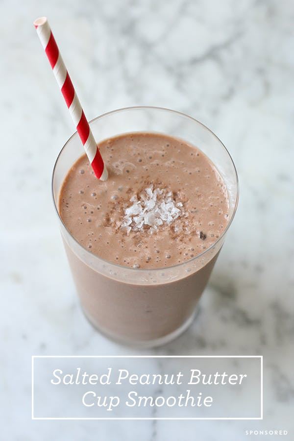 Salted Peanut Butter Cup Smoothie Pinterest