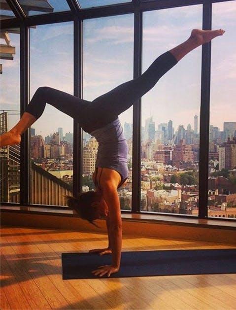 nyc office perks yoga