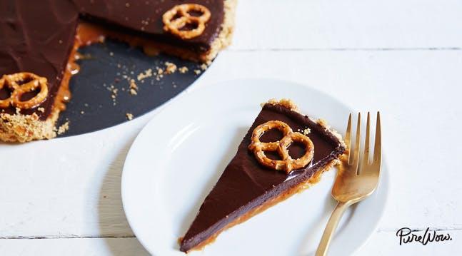 Chocolate-Caramel Pretzel Tart Recipes - PureWow