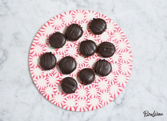 How to Make a Peppermint Candy Platter
