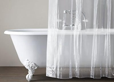 How To Clean A Shower Curtain Liner Home Purewow