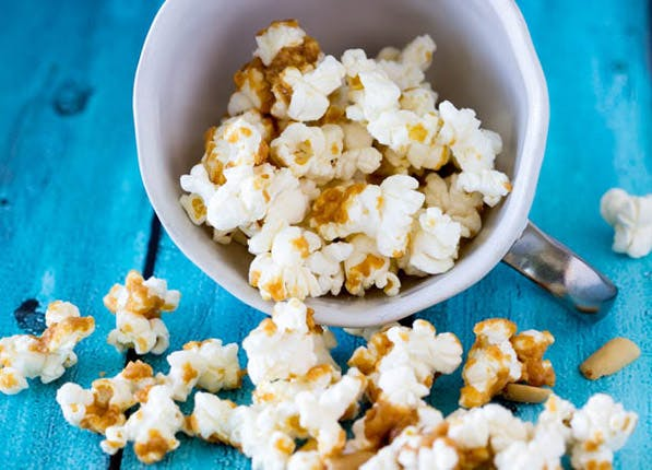 peanut popcorn