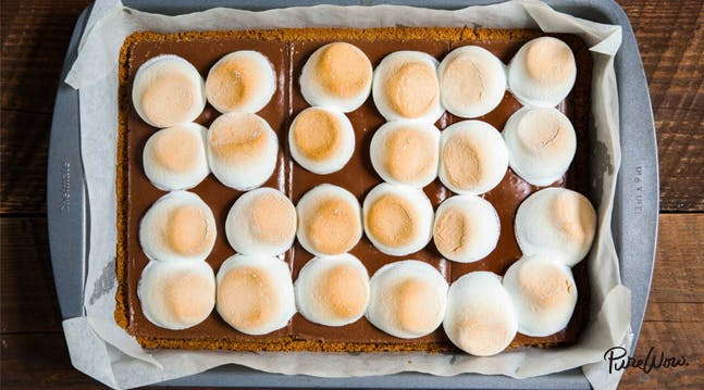 Oven-Baked Smores Bars