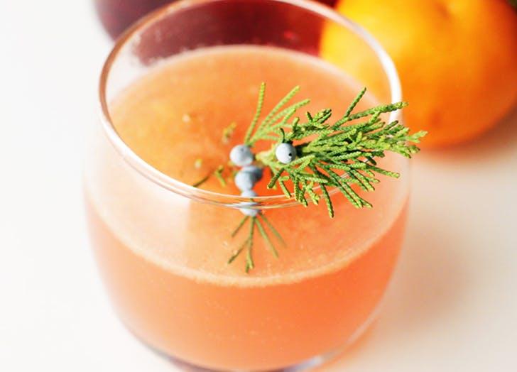 cocktails cranberryclementine