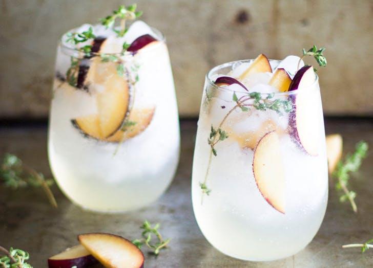 cocktails plum