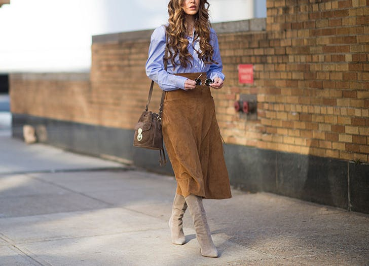 2c04af23cb8 5 Chic Ways to Wear Skirts in the Fall – BE CHIC NEW YORK