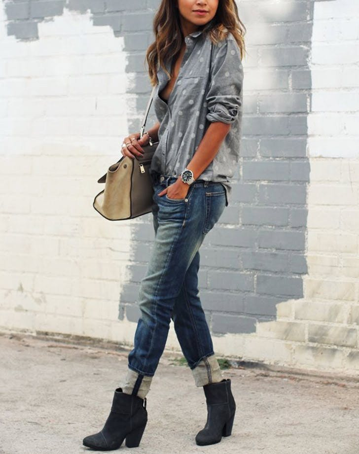 How to Wear Ankle Boots with Jeans   Fashion