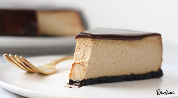 Chocolate Glazed Espresso Cheesecake | Recipes | Purewow