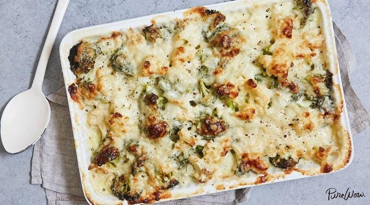 Broccoli and Cauliflower Gratin Recipe - PureWow