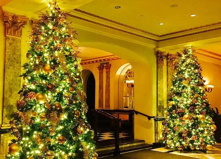 christmas trees pierre hotel NY 728