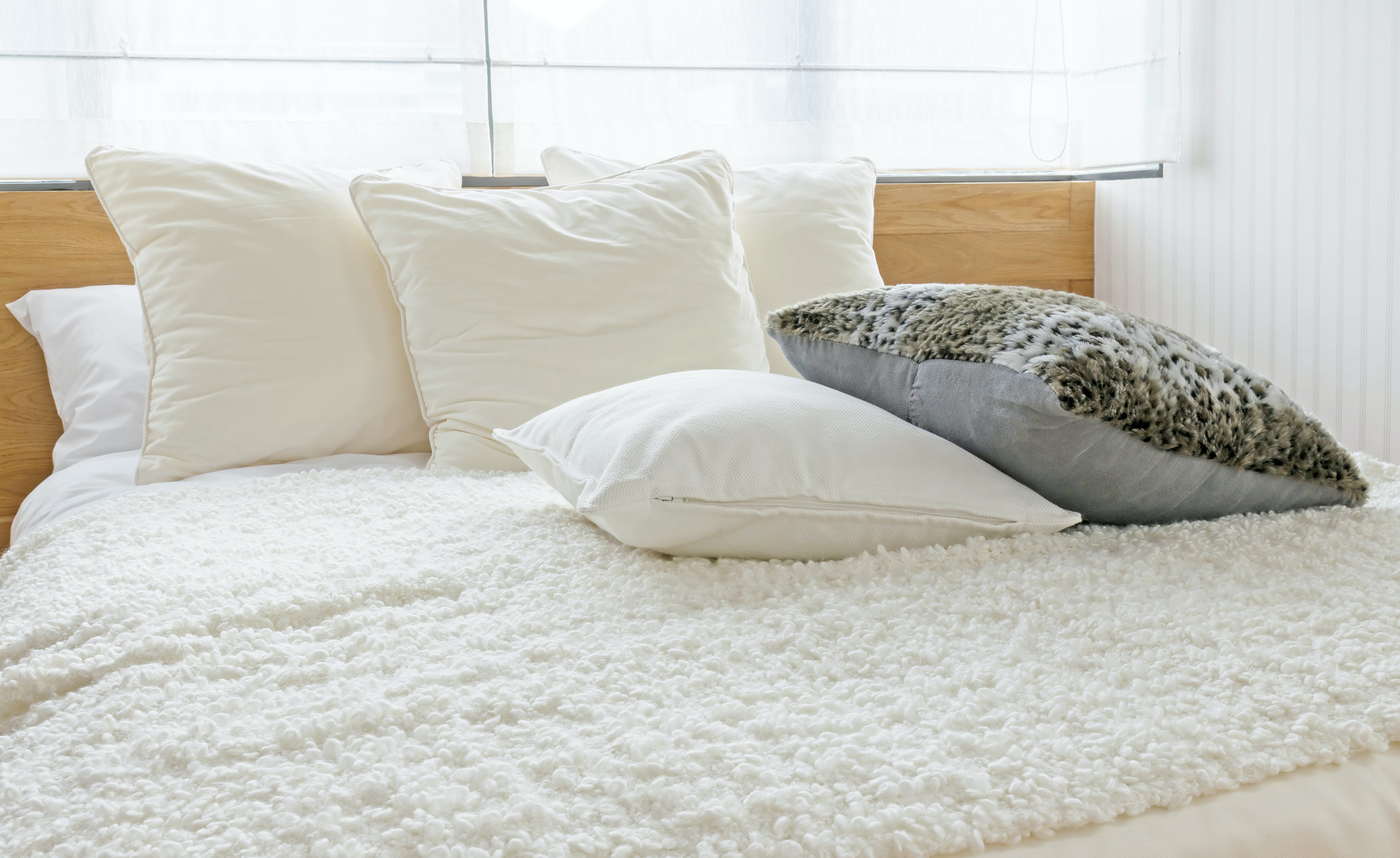 9 Ways To Make Your Bed Comfier Purewow