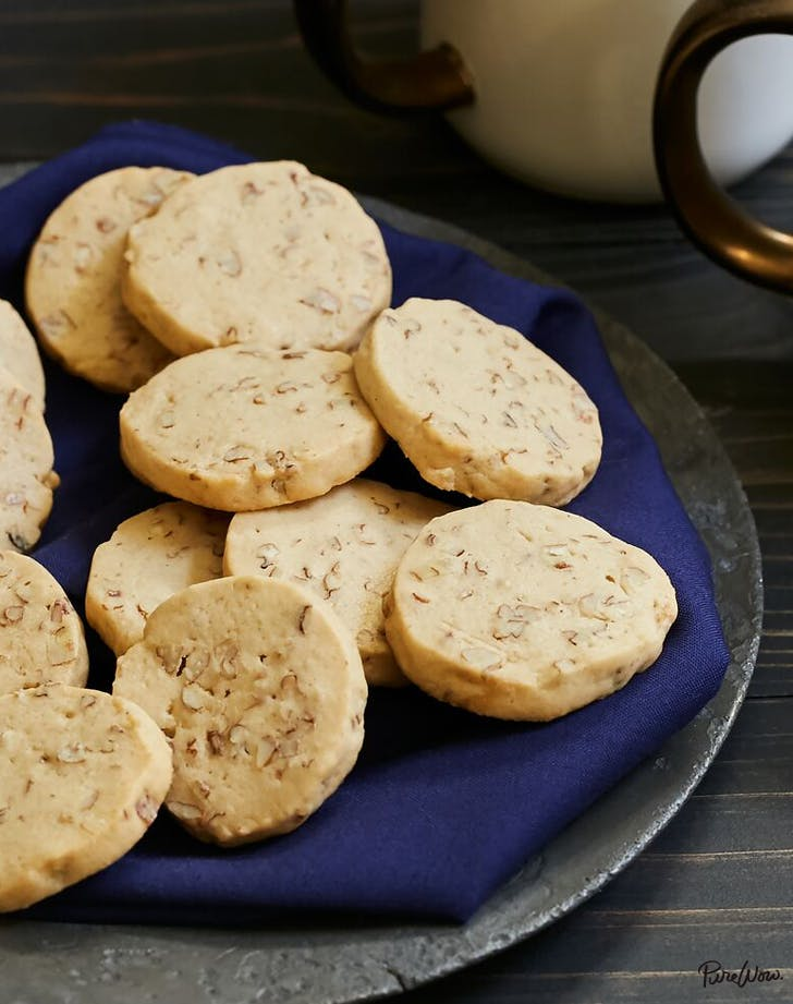 Pecan Ice Box Cookies Recipe