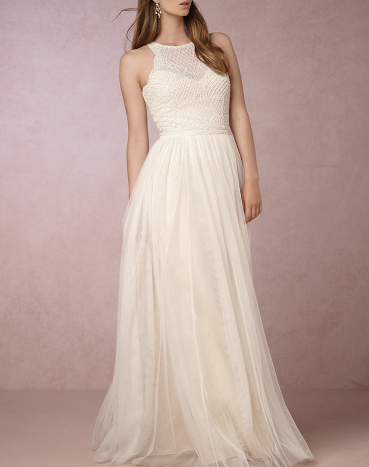 The best wedding dresses under 1 000 purewow for Best wedding dresses under 1000