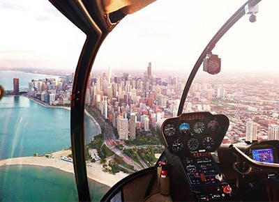 chicago experience gifts helicopter ride over the city CAT