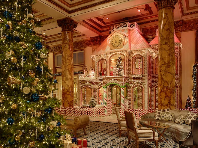 Gingerbread House Fairmont Hotel San Francisco