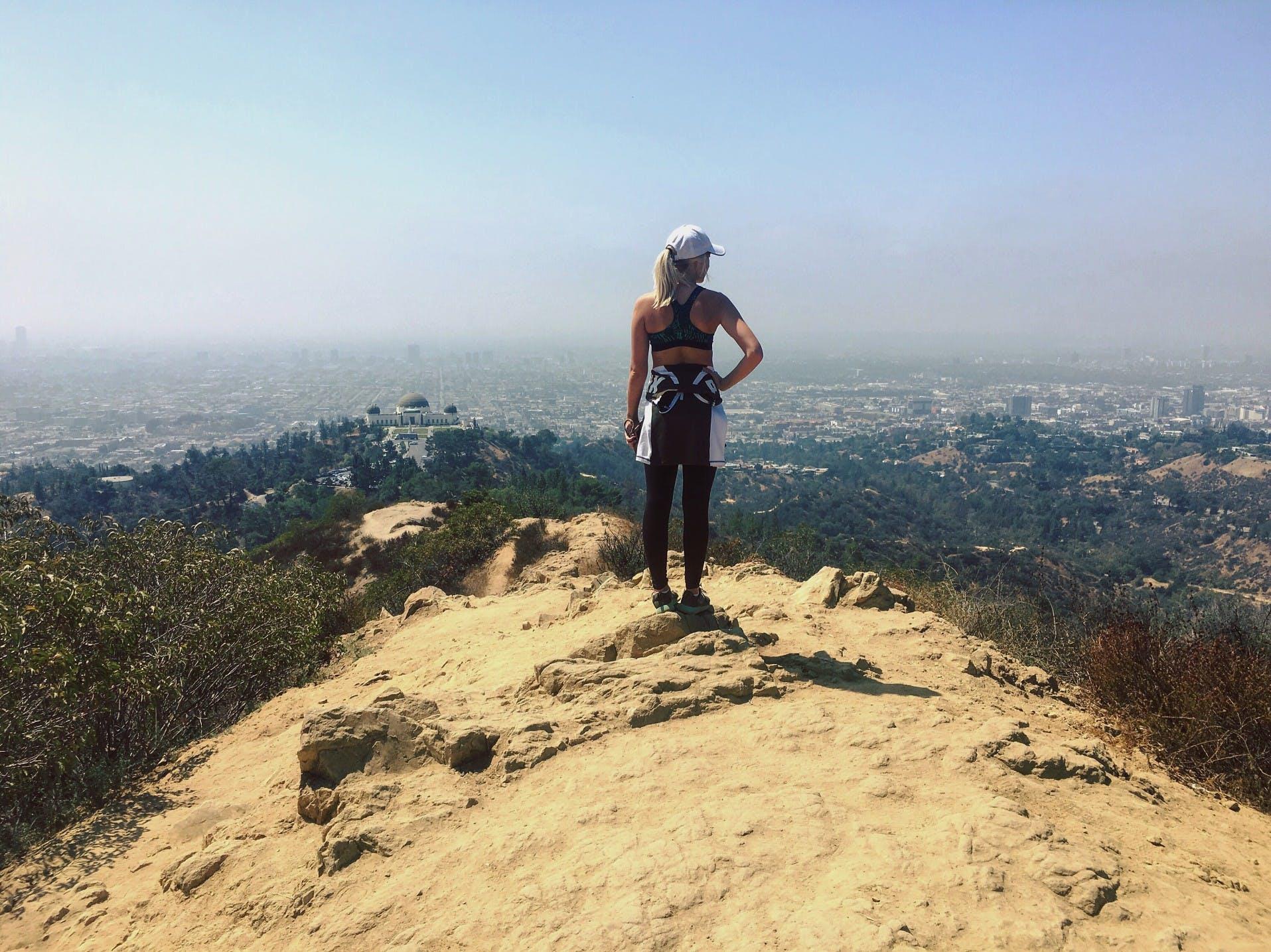 la fitness goals hiking