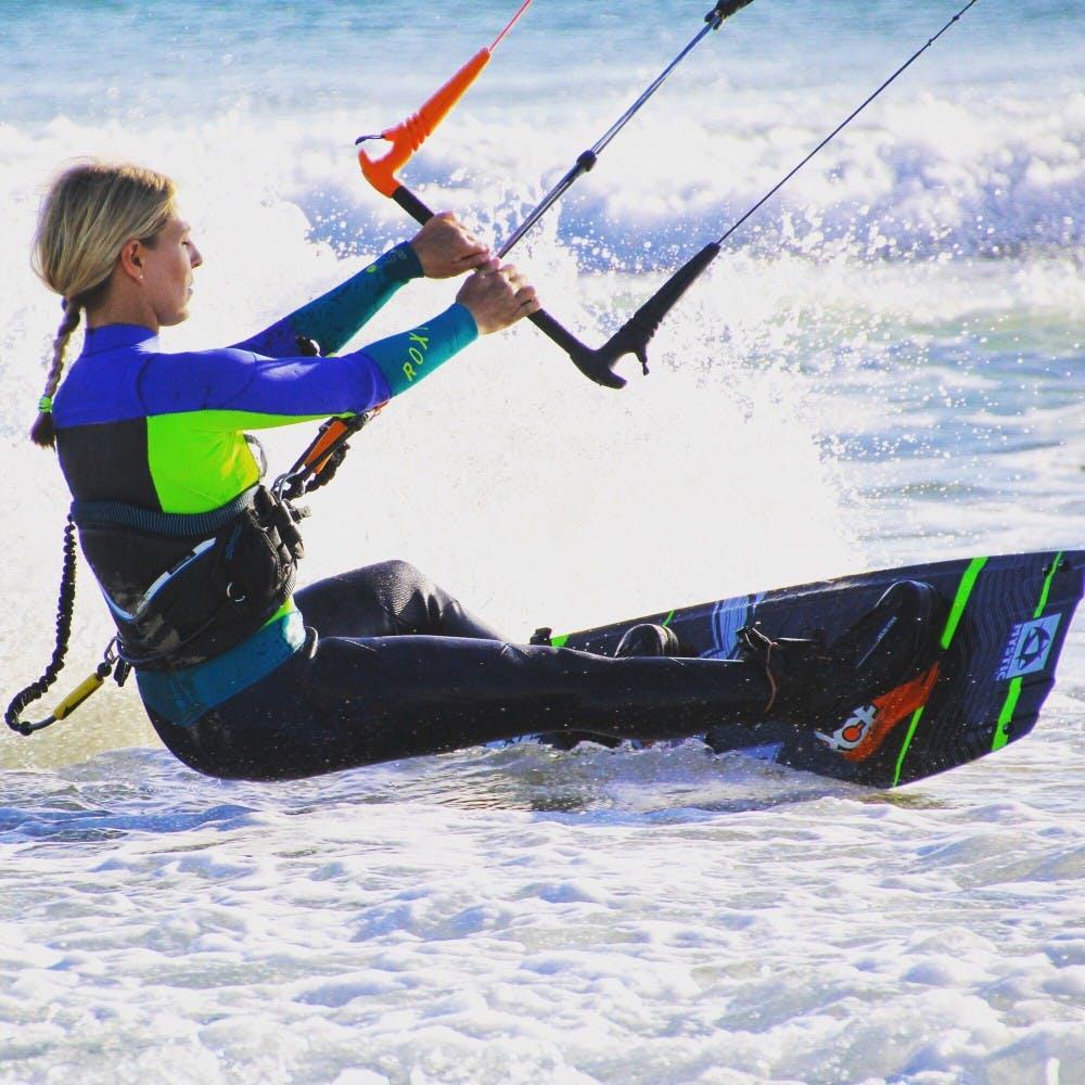 la fitness goals kiteborading
