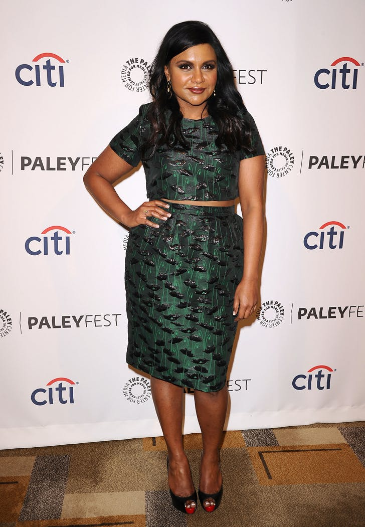 mindy kaling style matching set