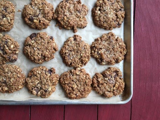 red bread oatmeal la best cookies