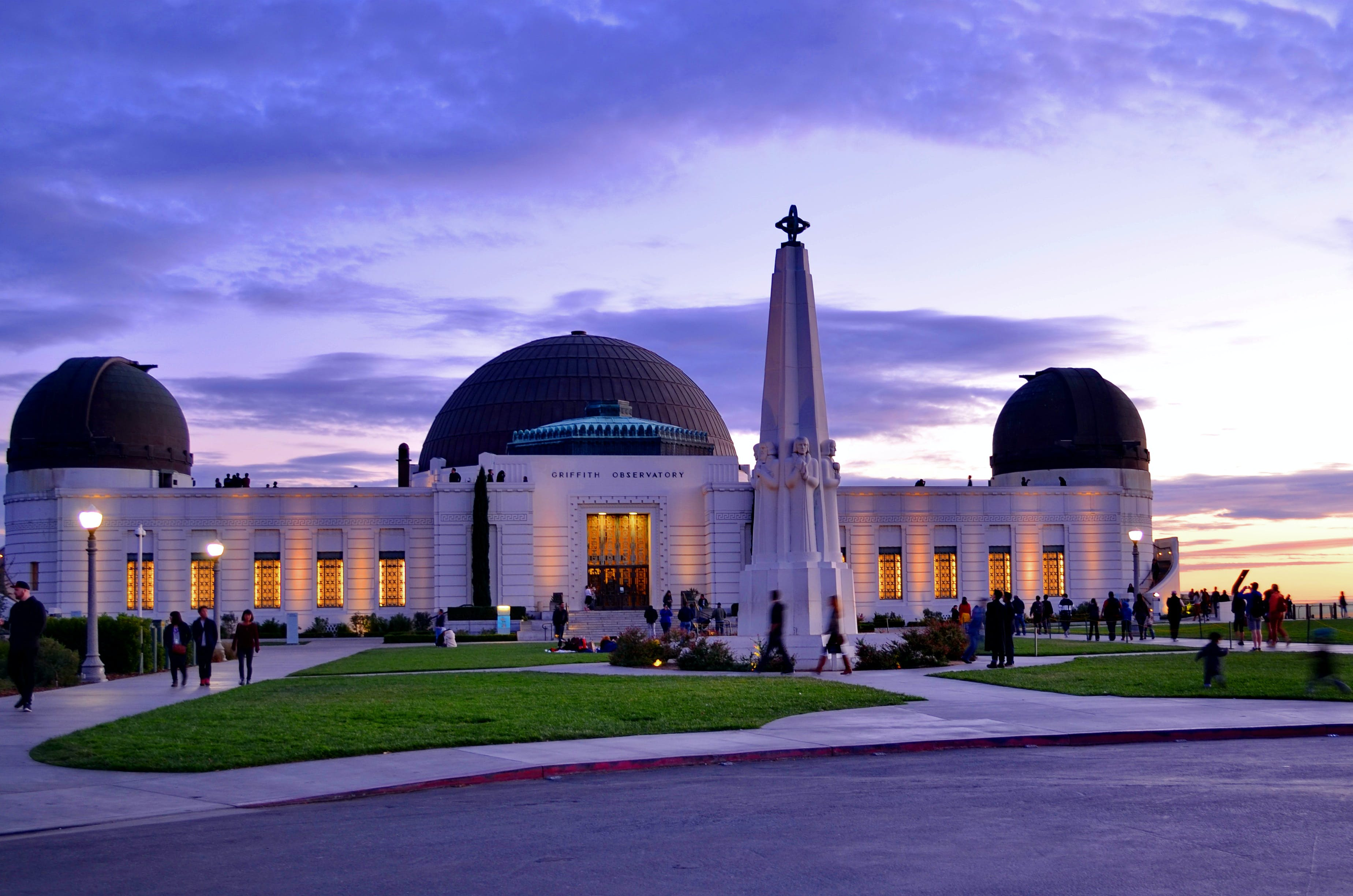 Griffith Observatory date night la