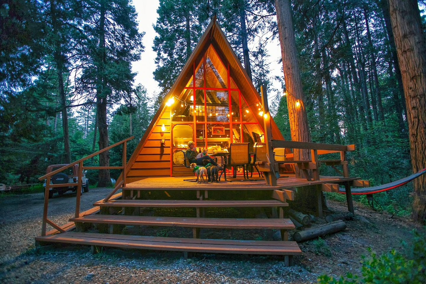 a fram cabin at idyllwood pine cove