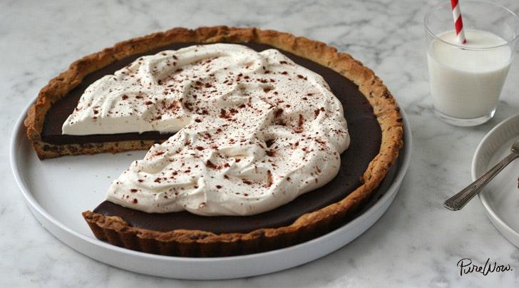 Chocolate cookie tart crust recipe