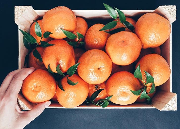 good mood food orange