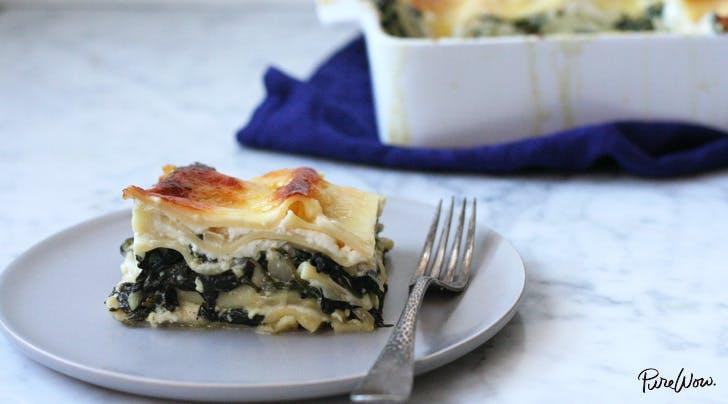 Mixed Greens Lasagna