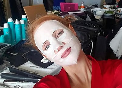 los angeles face masks jessica chastain CAT