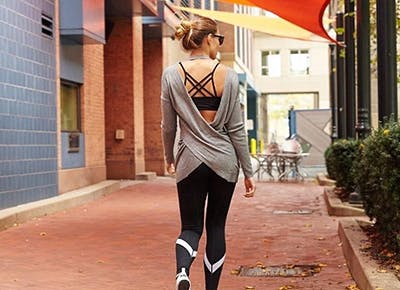 los angeles flattering fitness clothing CAT