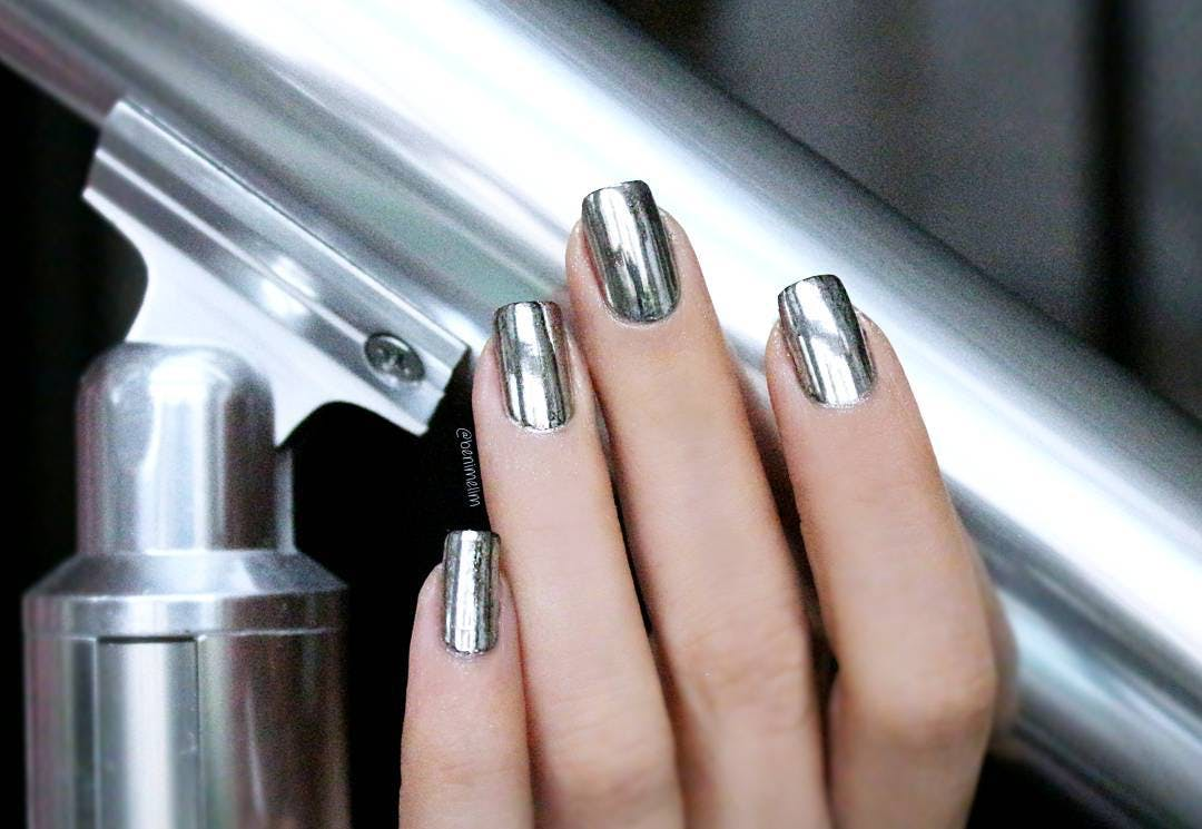 metallic nails sf refresh your look