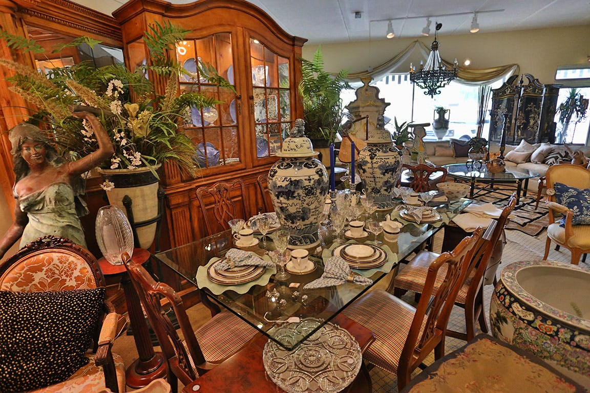 on consignment dallas antiques