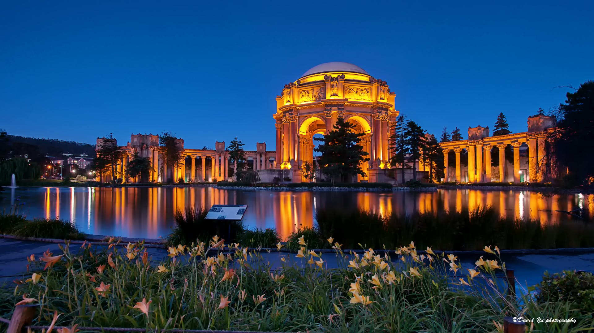 palace of fine arts san francisco beautiful places