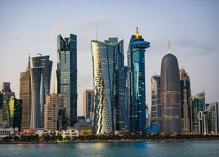 places qatar
