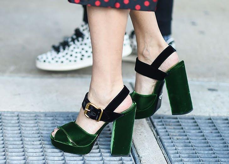 shoes trends velveet