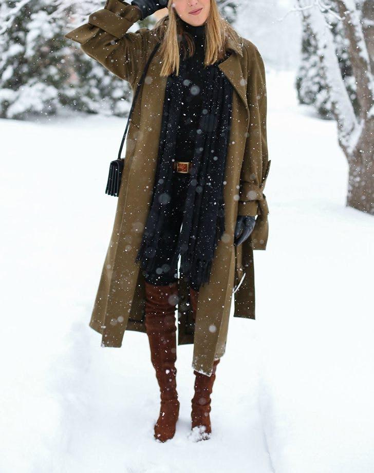 slimming winter outfits memorandum