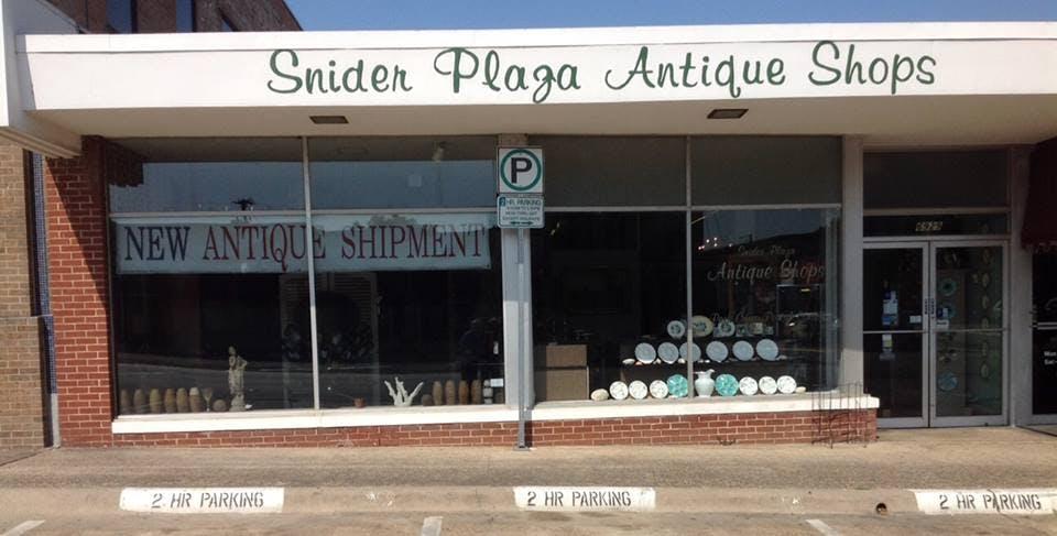snider plaza dallas antiques