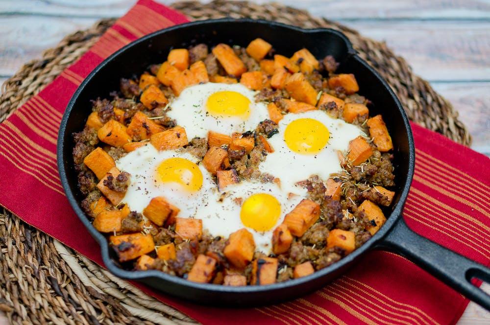 sweet potato hash dallas whole30