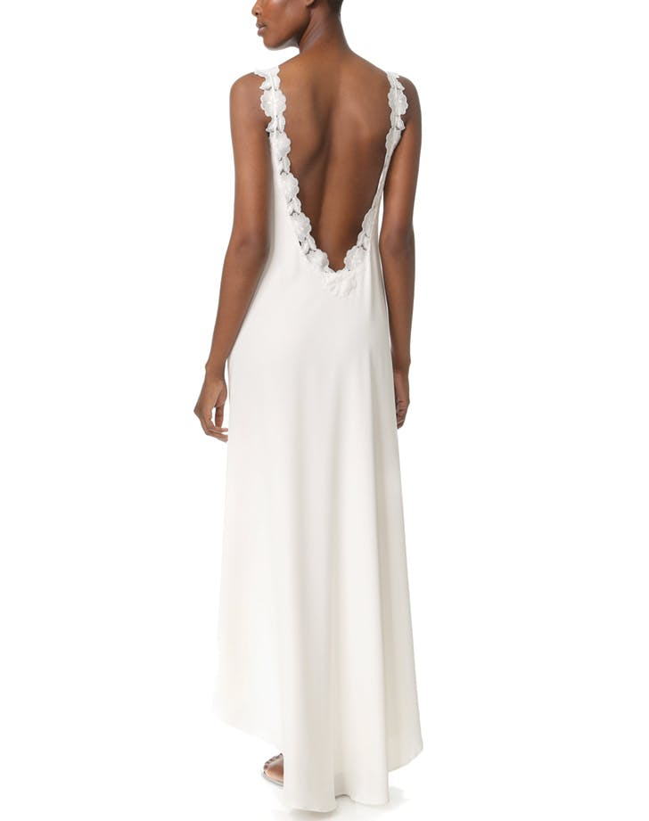 wedding dress backless