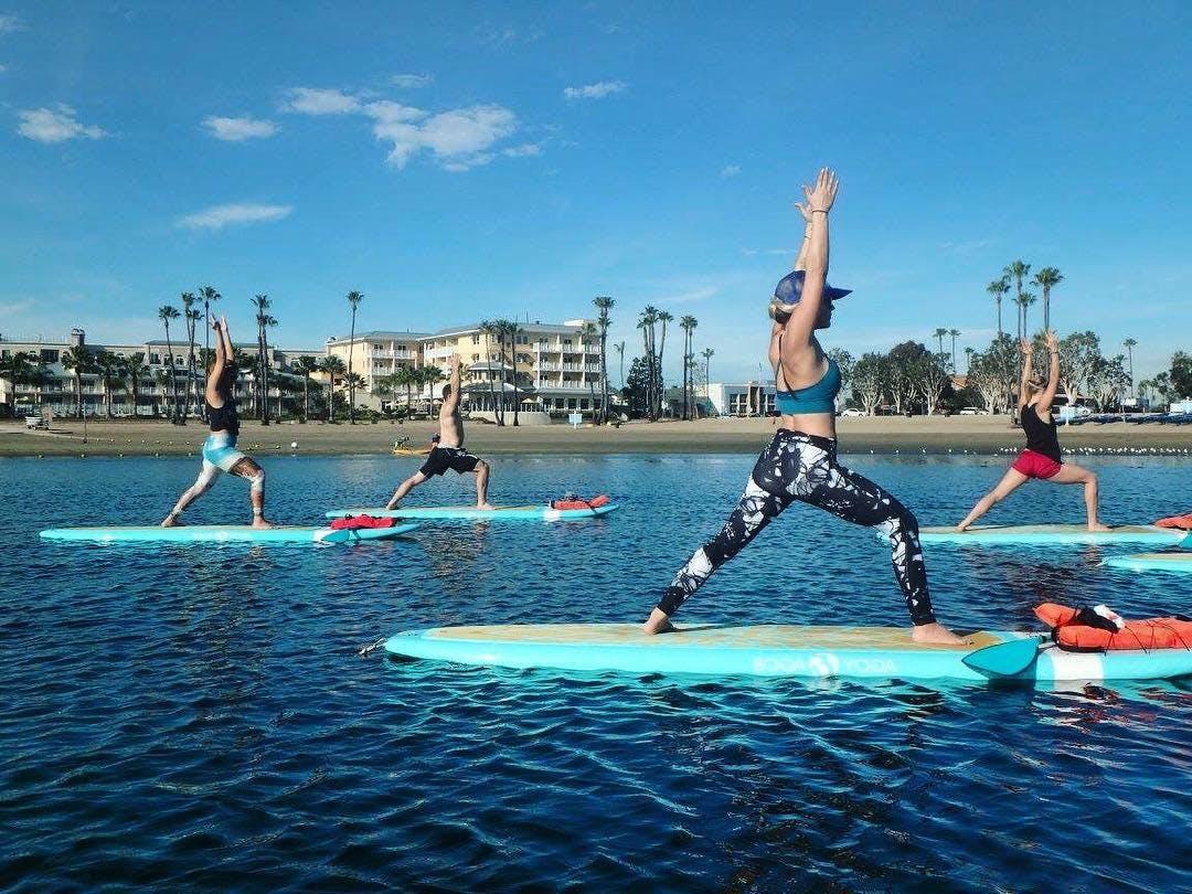 yogaqua los angeles neighborhood workout