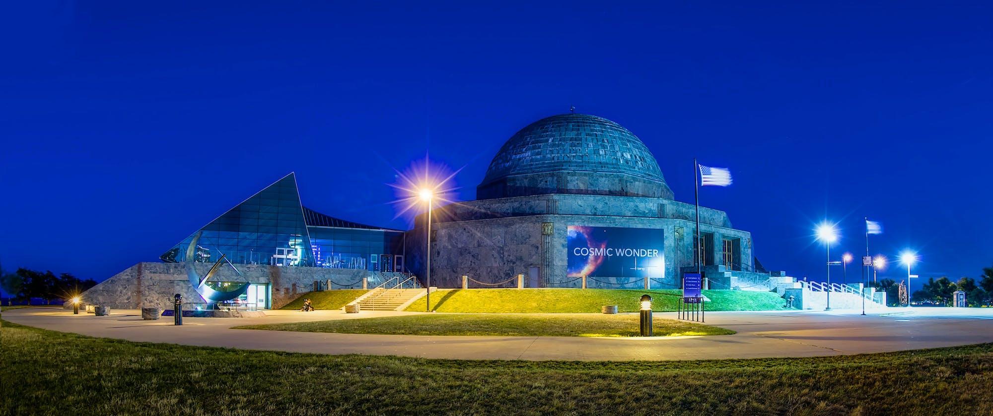 adler planetarium chicago date night ideas