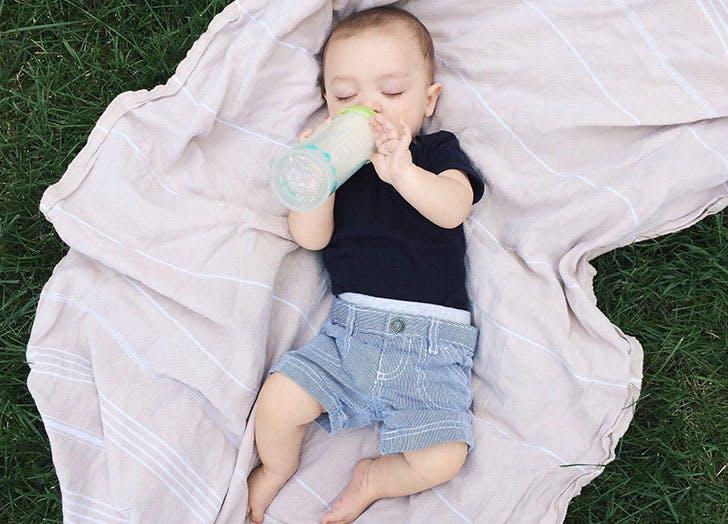 baby boy bottle