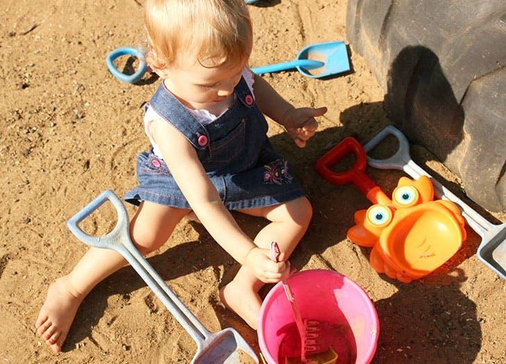 baby girl playground