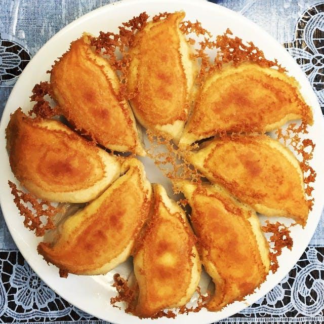 qing dao bread food los angeles best dumplings
