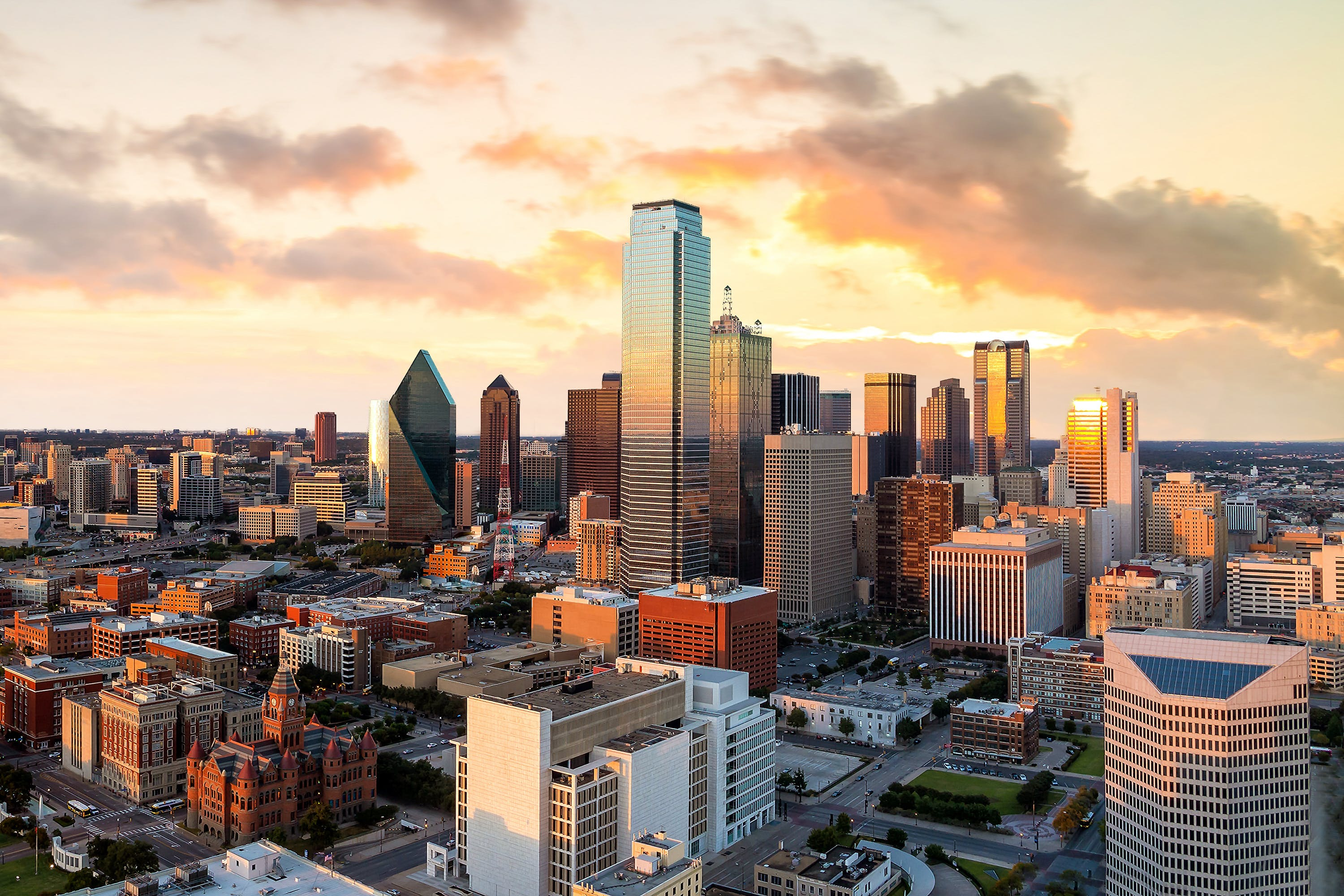 sunset helicopter ride dallas date night ideas