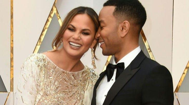 John Legend and Chrissy Teigen Defined Relationship Goals at the Oscars (Again)