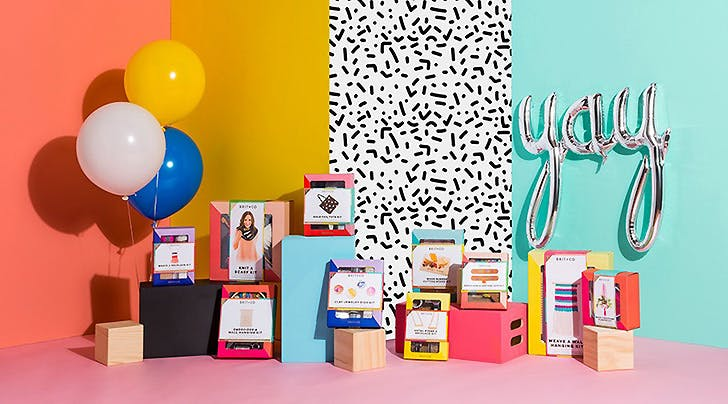 Crafters Rejoice: Brit + Co Just Partnered With Target For a New Line Of DIY Kits